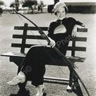 Woman Poses With Archery Equipment Vintage 8x10 Reprint Of Old Photo - Woman Poses With Archery Equipment Vintage 8x10 Reprint Of Old Photo