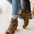 Not Rated Veronica Bootie in Leopard - 6.0