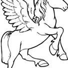 Malvorlagen - Ausmalbilder Pegasus Pferd | Ausmalbilder verschiedene Märchen