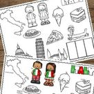 FREE France Coloring Pages to Read, Color and Learn