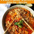 Thai Coconut Curry Vegetable Soup