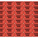 Free Printable Admit One Ticket Templates – Blank Downloadable PDFs - ClipArt Best