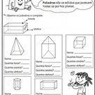 Atividades Solidos Geometricos Iniciacao A Geometria