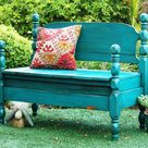 Painted Benches
