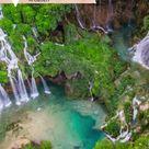 Unsere Natursehenswürdigkeit des Tages: Die Plitvicer Seen in Kroatien