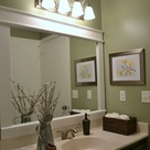 Bathroom Mirror Frames