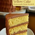 Yellow Cake From Scratch