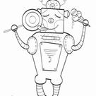 Sweet Robot   Worksheet   Education.com