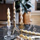DIY: gedraaide kaarsen maken doe je zo