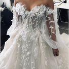 Off The Shoulder A Line Wedding Dress Cheap Beach Lace Wedding Dress D – DemiDress.com