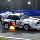 Toppled Records   1985 Audi Sport Quattro S1 'Pikes Peak'