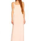 low back tank dress   xs / pink sand