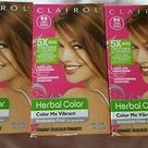 Clairol Herbal Color/Color Me Vibrant 54 Amber Shimmer Three 3 Boxes
