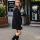 Black Boots Outfit / Chic Fall Look