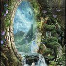 Fantasy Art Print -Swift of Spring Portal by Susan Schroder
