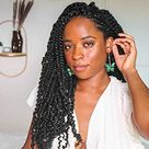 Toyotress Tiana Passion Twist Hair Pre-Twisted 8 Packs 12 strands/pack) Pre-Looped Passion Twists Crochet Braids Made Of Bohemian Hair Synthetic Braiding Hair Extension…… - 20 Inch (Pack of 8) / #2