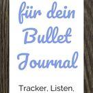 Die Masterliste: 69 Ideen für dein Bullet Journal   Punktkariert