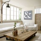 Ampersand sign Couples gift Wedding gifts Wedding Vow renewal gift Bedroom Decor Living room decor Gift for him Unique Bridal shower gift