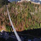 112 Meter hoch: Tiroler Hängebrücke lockt Wagemutige