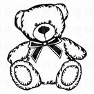 Teddy Bear #7 SVG, Teddy Bear Svg, Cute Bear SVG, Bear Clipart, Bear Files for Cricut, Bear Cut Files For Silhouette, Dxf, Png, Eps, Vector