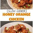 Orange Chicken Crock Pot