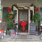 Christmas Front Porches