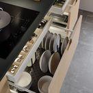 Drei Dinge, die eine effizient organisierte Küchenschublade ausmachen