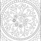 Peace symbols - Zen and Anti stress Coloring Pages for Adults - Just Color