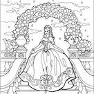 Kleurplaat van Prinses Leonora