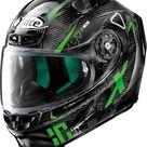 X-Lite X-803 Ultra Carbon Darko, integral helmet Black/Grey/Green