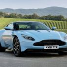 2017 aston martin db11   Rayne's favorite car. Frosted Glass Blue.
