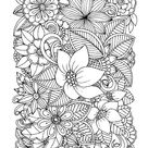 Whimsical Swirls Coloring Books For Adults Relaxation: Magic Floral Swirls