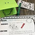 Kindergarten Centers Comparing Numbers