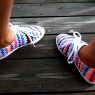 Chevron Shoes