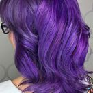 63 Purple Hair Color Ideas to Swoon over: Violet & Purple Hair Dye Tips
