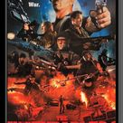 The Expendables 2 cast signed movie poster