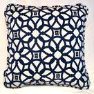 Brayden Studio Troutman Indoor/Outdoor Throw Pillow Cover Blue 16.0 x 16.0 x 2.0 in, Sunbrella   Wayfair Canada