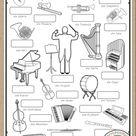 Die Instrumente - Bildwörterbuch