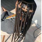 knotless big box braids