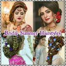 Bridal Summer Hairstyles 2021   Pakistani Bridal Summer Hairstyles   Easy wedding Hairstyles