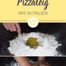 Pizzateig selber machen - Das Grundrezept für's Original