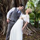 Melissa Sweet Wedding Dress with Flutter Sleeves | David's Bridal