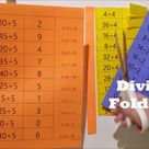 Division Flash Cards / Foldables