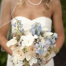 Beach Chic Light Blue and Peach Wedding | Every Last Detail
