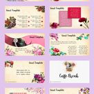 Beautiful Flower Free Powerpoint Template – 30 Slide - Free Powerpoint Templates, Download Template PTT