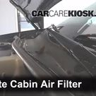 Cabin Filter Replacement Buick LaCrosse 2005 2009 2006 Buick LaCrosse CX 3.8L V6