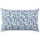 SÅNGLÄRKA Kissen, Blume/blau weiß, 65x40 cm - IKEA Deutschland