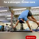 IDEA: try planking variations for a stronger, firmer core