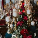 A Pro Tennis Player's Fall Wedding Featuring a Moody Color Palette - Inside Weddings
