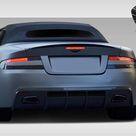 Extreme Dimensions Rear Bumper Aston Martin DB9 DBS 2004 2012 Eros Version 1 Style